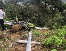 Tai nạn kinh hoàng trên đường lên Tam Đảo, 4 người tử vong