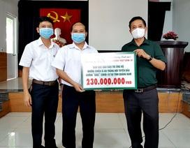 Bạn đọc Dân trí ủng hộ tuyến đầu chống dịch tỉnh Quảng Nam 230 triệu đồng