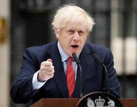 """Thủ tướng Anh """"tái xuất"""", cảnh báo thảm họa nếu vội vã nới phong tỏa"""