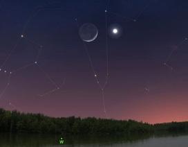 Tuần này bạn có thể ngắm nhìn sao Hôm sáng nhất