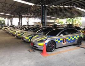 Thái Lan sử dụng Tesla Model 3 làm xe cảnh sát