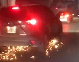 Tài xế nước ngoài gây tai nạn khiến một bé gái bị thương rồi bỏ chạy