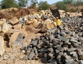 Chỉ đạo xử lý nghiêm vụ khai thác đá lậu vẫn phải đóng thuế tại Gia Lai