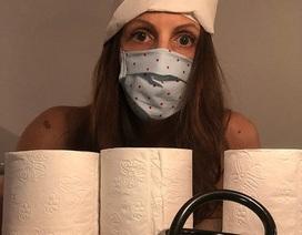 Các bác sĩ Đức chụp ảnh khỏa thân phản đối tình trạng thiếu đồ bảo hộ