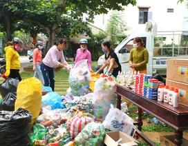 Đổi rác thải nhựa lấy quà tặng phòng, chống Covid-19