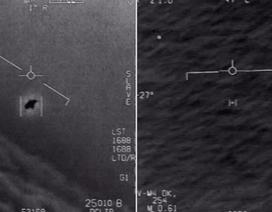 """Lầu Năm Góc giải mật video phi công Mỹ """"chạm mặt"""" UFO"""