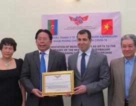 10.000 khẩu trang hỗ trợ Azerbaijan chống đại dịch Covid-19