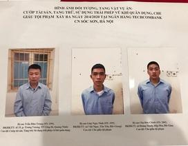 Kẻ cướp ngân hàng ở Sóc Sơn nổ 2 phát súng, đòi lấy 900 triệu đồng