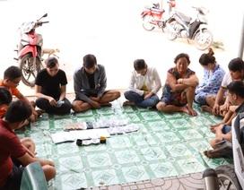 """Triệt phá điểm chơi bạc """"khủng"""" tại khu vực biên giới giáp ranh Campuchia"""