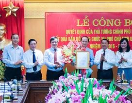 Thủ tướng phê chuẩn tân Phó chủ tịch tỉnh Hà Tĩnh
