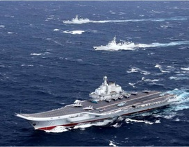 Nhật Bản theo dõi chặt chẽ hoạt động của tàu sân bay Trung Quốc