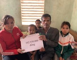 Những đứa trẻ bị bỏ rơi được bạn đọc Dân trí giúp đỡ gần 103 triệu đồng