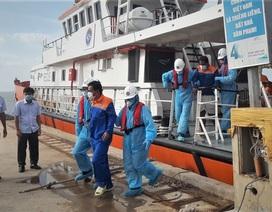 Tiếp nhận thêm 2 thuyền viên Indonesia bị nạn trên biển