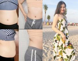 Cô gái Hà thành loại 6kg mỡ thừa, giảm 23cm vòng eo trong 2 tuần