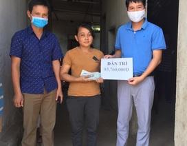 Người vợ bệnh tật nuôi 3 con thơ được bạn đọc giúp đỡ hơn 83 triệu đồng