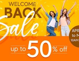 Crescent Mall trở lại với 04 ngày khuyến mãi lớn chào đón tất cả mọi người