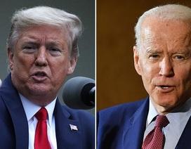 """Ông Trump chê ông Biden """"kém cỏi suốt 30 năm"""""""
