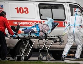 Nga tăng kỷ lục gần 10.000 ca mắc Covid-19 trong một ngày