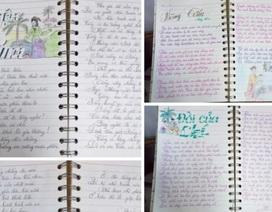 """Cô giáo """"chuyển thể"""" truyện thành thơ để truyền cảm hứng cho học sinh"""