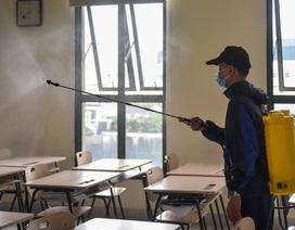 Trường học tại Hà Nội khẩn trương khử trùng, chuẩn bị đón học sinh