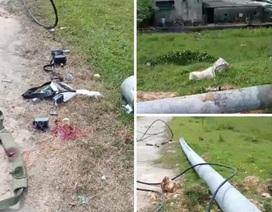 Vụ cột điện đổ đè công nhân tử vong: Nhà thầu thừa nhận sai sót