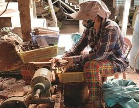 Khởi nghiệp từ nghề làm đũa thốt nốt