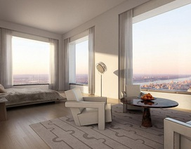 Cuộc sống xa xỉ trong căn penthouse 1.900 tỷ tại chung cư cao nhất New York