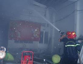 Cháy lớn tại khu tập thể Trung tâm Văn hóa nghệ thuật tỉnh An Giang