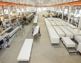 Nhà thép tiền chế kết hợp panel tối ưu chi phí cho nhà xưởng
