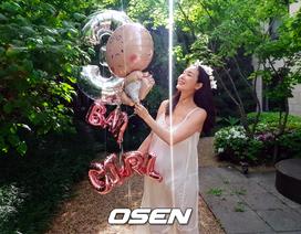 """""""Bà bầu"""" Choi Ji Woo thon thả và xinh đẹp ở tháng cuối thai kỳ"""