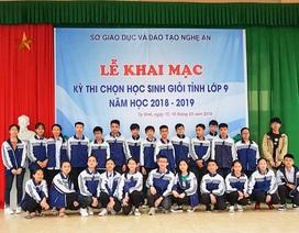 Nghệ An: Không tổ chức kỳ thi học sinh giỏi cấp tỉnh