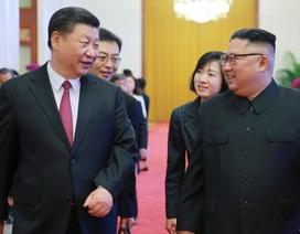 Ông Kim Jong-un gửi điện mừng Trung Quốc