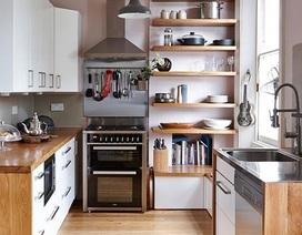 8 cách bố trí thông minh cho những gian bếp chật hẹp, ai cũng cần biết