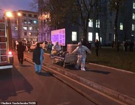 Cháy bệnh viện điều trị Covid-19 ở Nga, 1 người chết