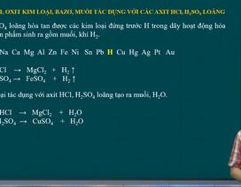 Ôn tập môn Hóa thi tốt nghiệp: Bài toán kim loại,bazơ, muối tác dụng với…
