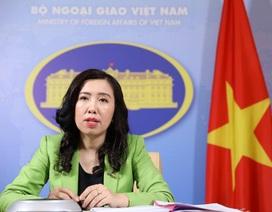 """Việt Nam lên tiếng việc được mời điện đàm ở """"Bộ tứ kim cương"""" mở rộng"""
