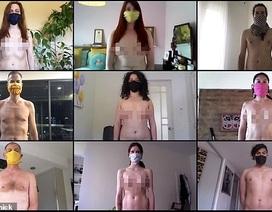 """Dự án nhiếp ảnh """"khỏa thân... đeo khẩu trang"""""""