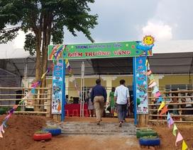 Quảng Trị: Khánh thành điểm trường Mầm non tại xã miền núi