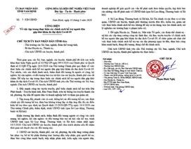Nam Định yêu cầu đẩy nhanh việc rà soát, thống kê các đối tượng hỗ trợ