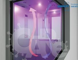 Triển khai hàng loạt công nghệ mới diệt khuẩn thang máy