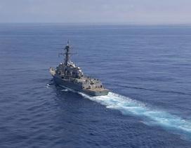 Tàu chiến Mỹ di chuyển gần Thượng Hải giữa lúc Mỹ - Trung căng thẳng