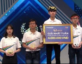 Nam sinh Quảng Trị chiến thắng kịch tính trong cuộc thi Tuần Olympia