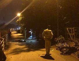 Xe máy tông nhau trong ngõ, 2 người tử vong tại chỗ