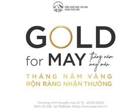 Tháng 5 vàng, rộn ràng nhận thưởng cùng AIA Việt Nam
