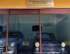 Ngắm nhìn những chiếc ô tô đã từng được phục vụ Bác Hồ