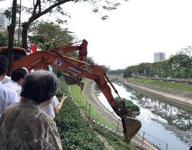 Hà Nội khoan cống ngầm dẫn nước thải dài 11km hồi sinh sông Tô Lịch