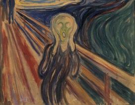 """Bức """"Tiếng thét"""" của Edvard Munch cần phải được... giãn cách"""