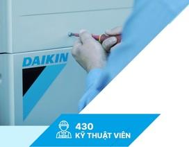 Daikin Việt Nam tiên phong giới thiệu ứng dụng đặt dịch vụ sửa chữa máy lạnh