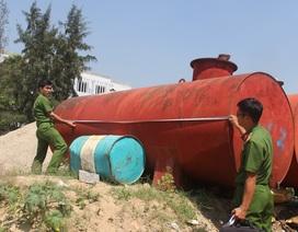 Tỉnh Phú Yên yêu cầu báo cáo việc 2 bồn chứa dầu trong khu dân cư