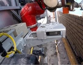 Robot 'thợ xây' có năng suất bằng 10 công nhân